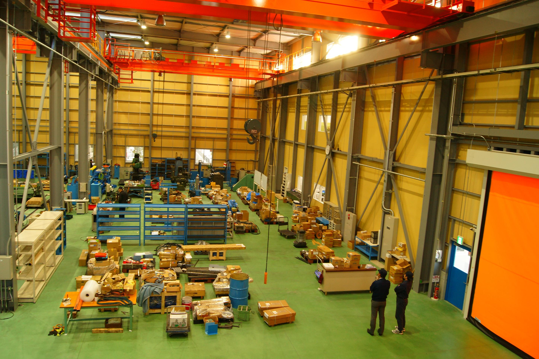 2014年に完成した協和製作所 綱島の新工場