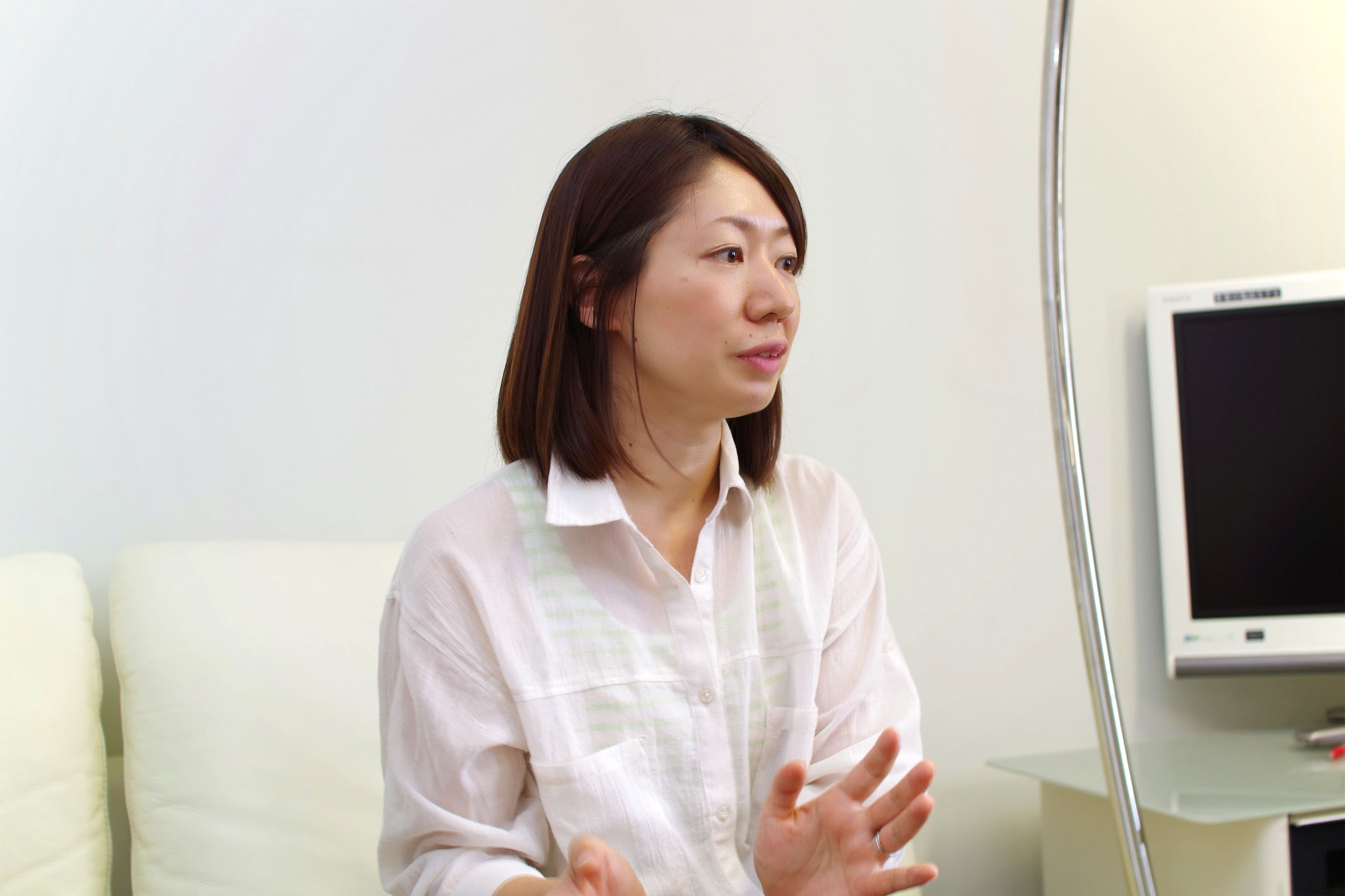 IDCフロンティア ビジネス開発本部の安食千恵さん