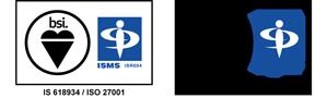 情報セキュリティマネジメントシステム(ISMS)の国際規格である「ISO27001」およびISMSクラウドセキュリティ「ISO27017」