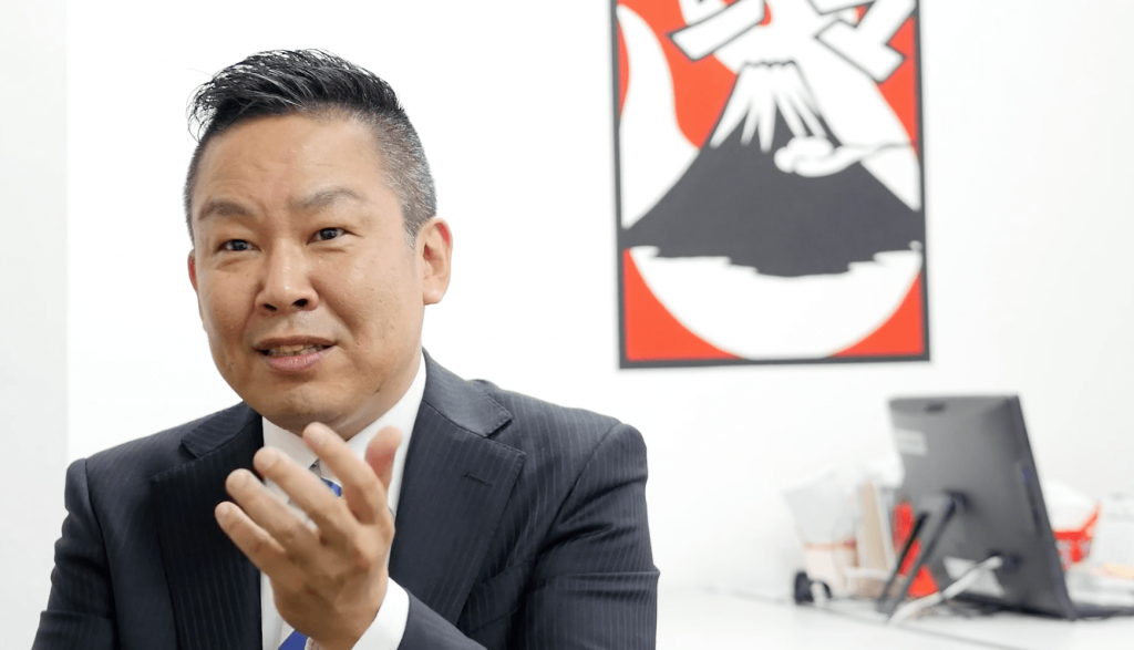 株式会社夢笛 代表取締役社長 高橋英樹様