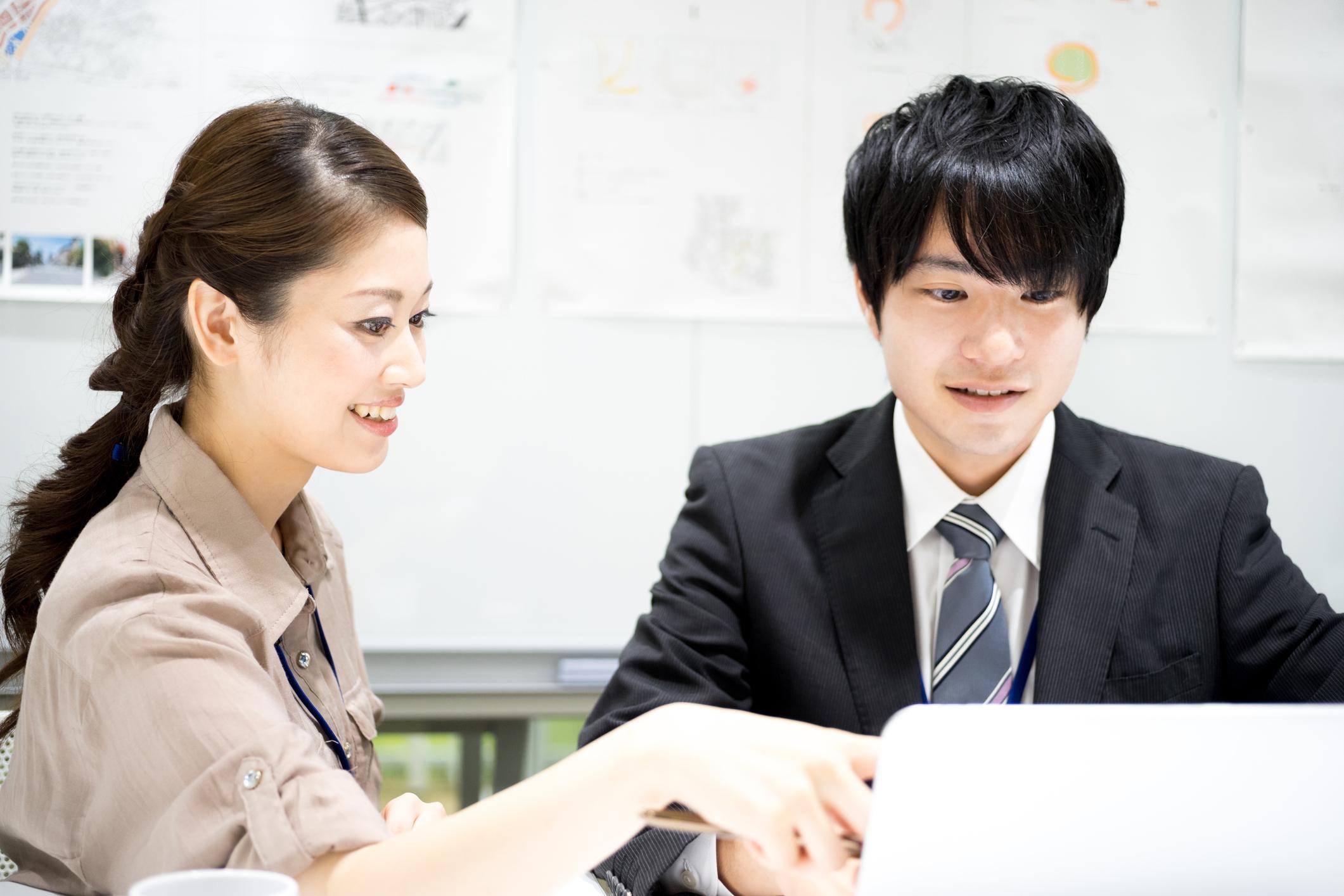 新入社員受け入れと新人教育