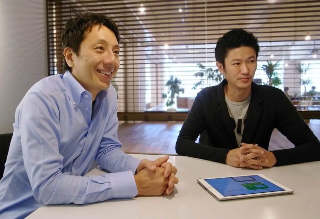 株式会社トレタ 代表取締役 中村仁様(左)、サポートグループCSマネージャー 関根響様(右)