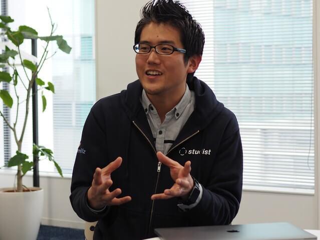 株式会社スタディストのCTOの画像